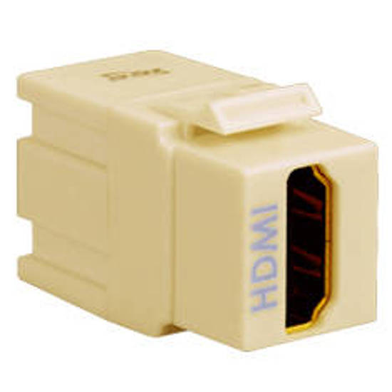 Picture of ICC IC107HDMIV - HDMI MODULAR CONNECTOR IVORY