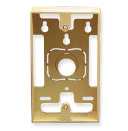 Picture of ICC IC107MRSIV - MOUNTING BOX, 1-GANG, IVORY