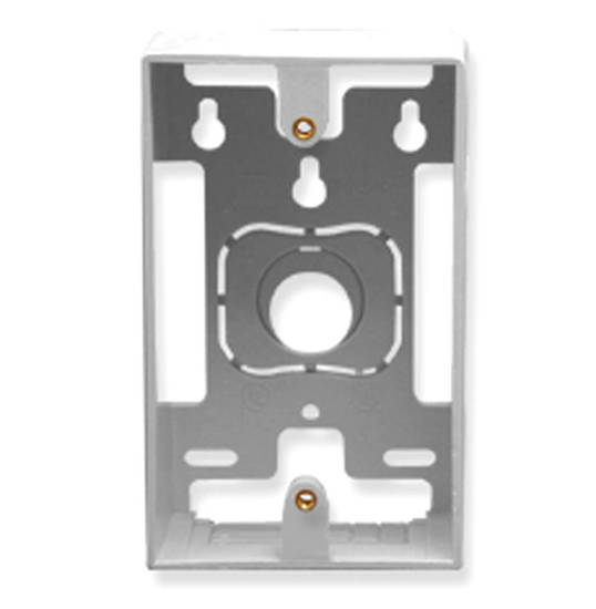 Picture of ICC IC107MRSWH - MOUNTING BOX, 1-GANG, WHITE