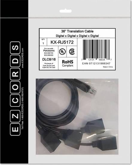 Picture of EZCORDS KX-RJ5172 - DLC8/16 NS700 Translation Cable