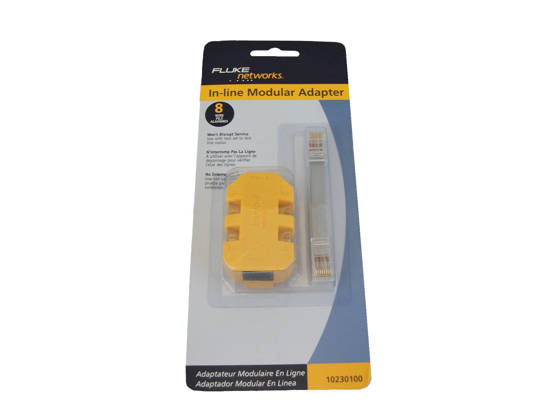 Picture of Fluke Networks 10230-100 - Banjo In-line Adapter - 8 Confgurations