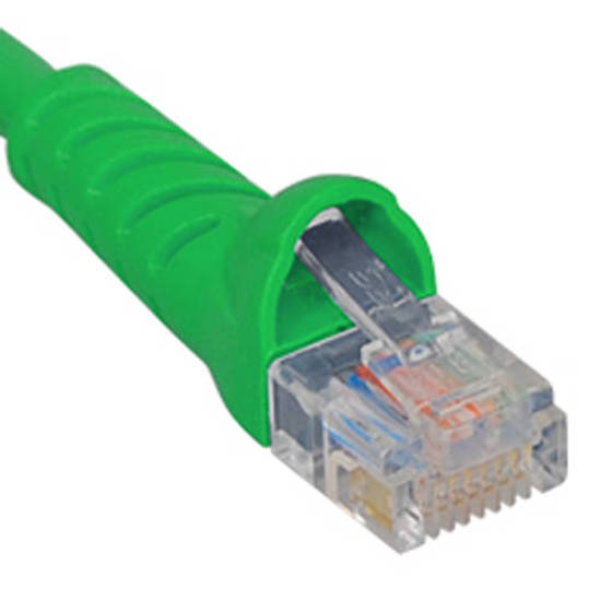 Picture of ICC ICPCSJ10GN - PATCH CORD, CAT 5e, MOLDED BOOT, 10' GN