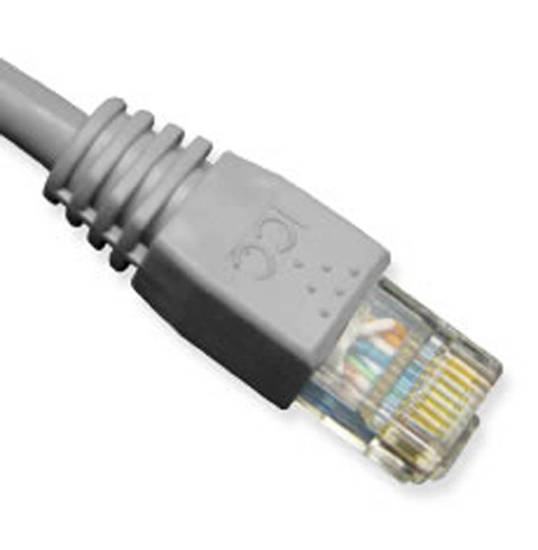 Picture of ICC ICPCSK03GY - PATCH CORD, CAT 6, MOLDED BOOT, 3' GY