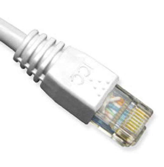 Picture of ICC ICPCSK03WH - PATCH CORD, CAT 6, MOLDED BOOT, 3'  WH