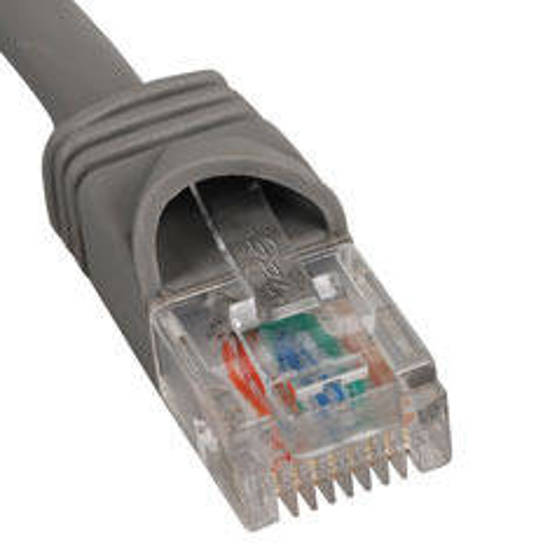 Picture of ICC ICPCSK10GY - PATCH CORD, CAT 6, MOLDED BOOT, 10' GY
