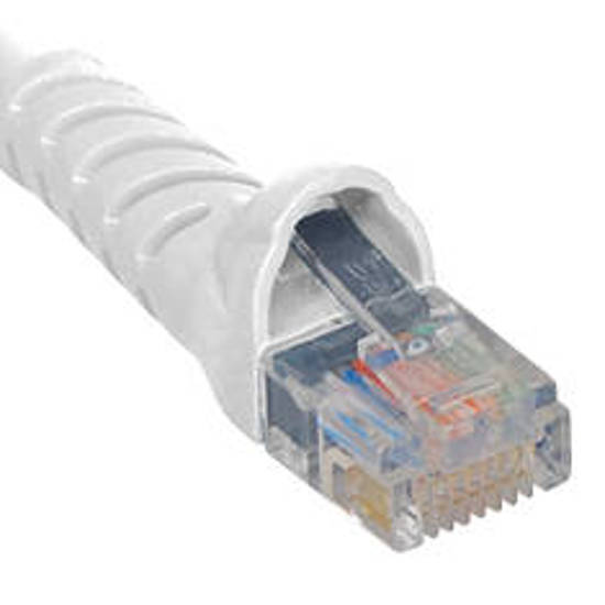 Picture of ICC ICPCSK25WH - PATCH CORD, CAT 6, MOLDED BOOT, 25'  WH