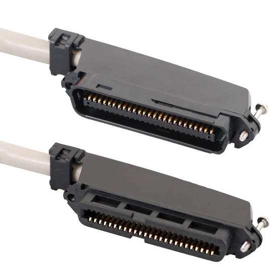 Picture of ICC ICPCSTFM25 - 25-PAIR CABLE ASSEMBLY, F-M, 90°, 25'