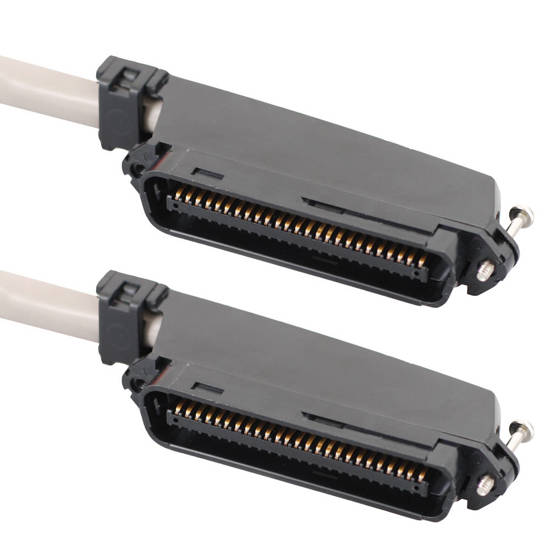 Picture of ICC ICPCSTMM05 - 25-PAIR CABLE ASSEMBLY, M-M, 90°, 5'
