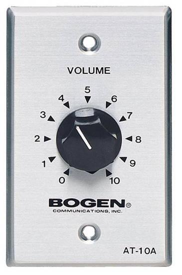 Picture of Bogen AT10A - Bogen 10 Watt Attenuator Single Gang