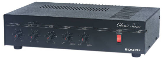 Picture of Bogen C100 - 100 WATT AMPLIFIER