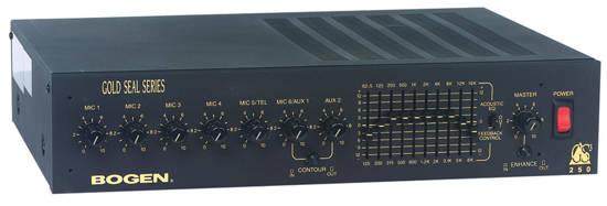 Picture of Bogen GS100D - 100 Watt Dual EQ Amp