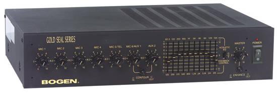 Picture of Bogen GS250D - GS Series Public Address Amp
