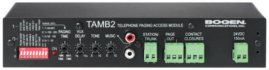 Picture of Bogen TAMB2PS - TELEPHONE ACCESS MODULE WITH PS