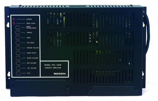 Picture of Bogen TPU35B - Bogen 35 Watt Amplifier
