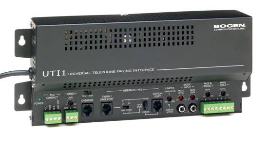 Picture of Bogen UTI1 - Single Zone Paging Controller