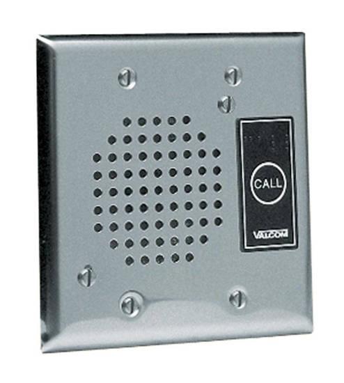 Picture of VALCOM V-1072B-ST - Doorplate Spkr, Flush w/LED (Stainless)