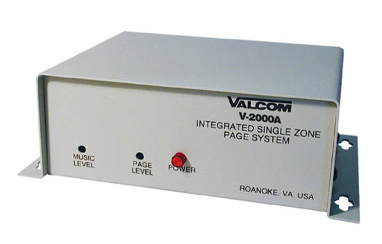Picture of VALCOM V-2000A - Page Control - 1 Zone 1Way