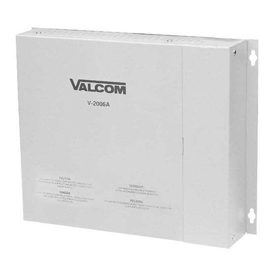 Picture of VALCOM V-2006A - Page Control - 6 Zone 1Way