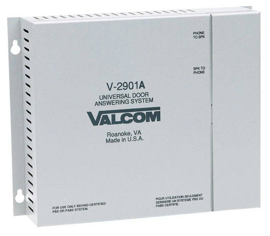 Picture of VALCOM V-2901A - Door Answer Device - Single