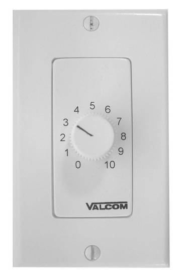 Picture of VALCOM V-2992-W - Wall Mount Volume Control, Dec