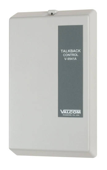 Picture of VALCOM V-9941A - Valcom One-Zone Talkback Control Unit