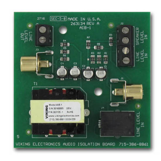 Picture of Viking Electronics AIB-1 - Audio Isolation Board