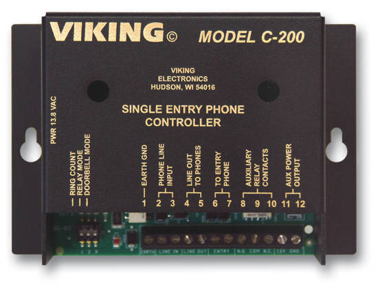 Picture of Viking Electronics C-200 - Viking Door Entry Control for Entry Phon