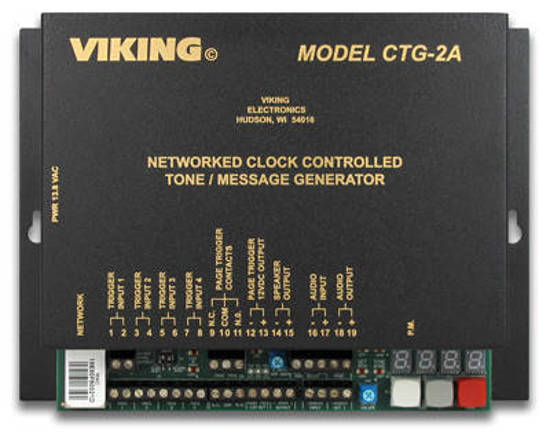 Picture of Viking Electronics CTG-2A - Network Clock Controlled Tone Generator