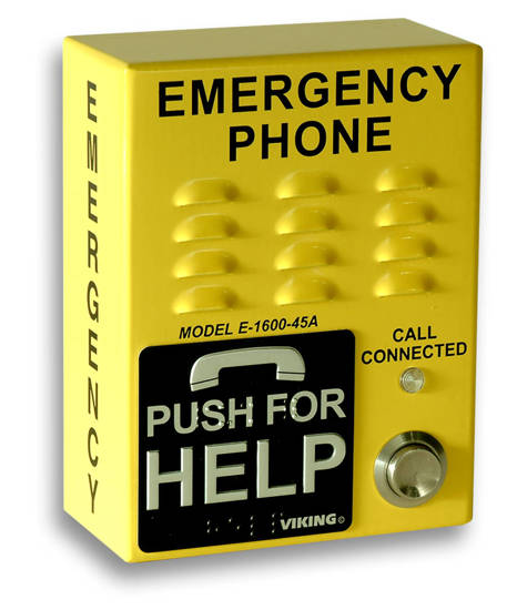 Picture of Viking Electronics E-1600-45A - Viking Emergency Handsfree Phone