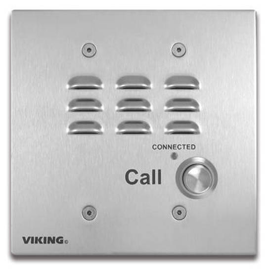 Picture of Viking Electronics E-32-EWP - Analog Entry Phone with EWP