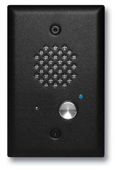 Picture of Viking Electronics E-40-BK - Satin Black Entry Phone with Automatic