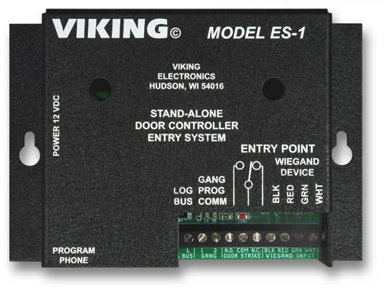 Picture of Viking Electronics ES-1 - Viking Stand Alone Door Entry