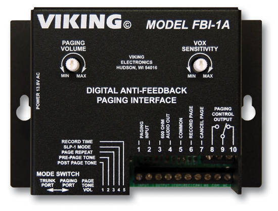 Picture of Viking Electronics FBI-1A - Viking Feedback Eliminator