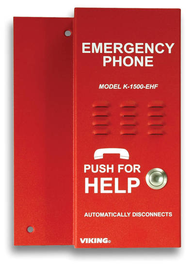 Picture of Viking Electronics K-1500-EHFA - Handsfree elevator phone