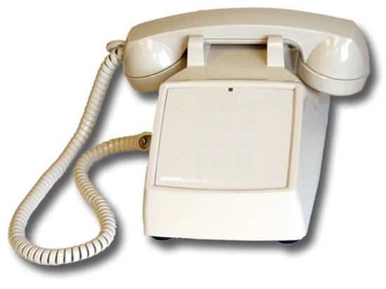 Picture of Viking Electronics K-1500P-D-AS - No Dial Desk Phone - Ash