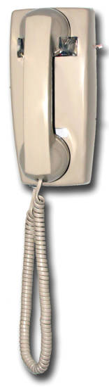 Picture of Viking Electronics K-1500P-W-AS - No Dial Wall Phone - Ash