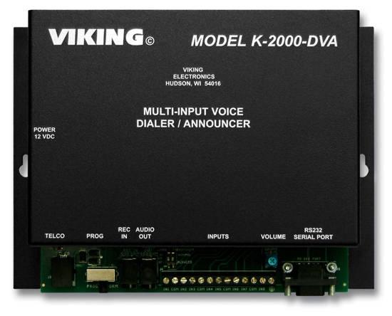 Picture of Viking Electronics K-2000-DVA - Multi-input Voice Dialer/Annou