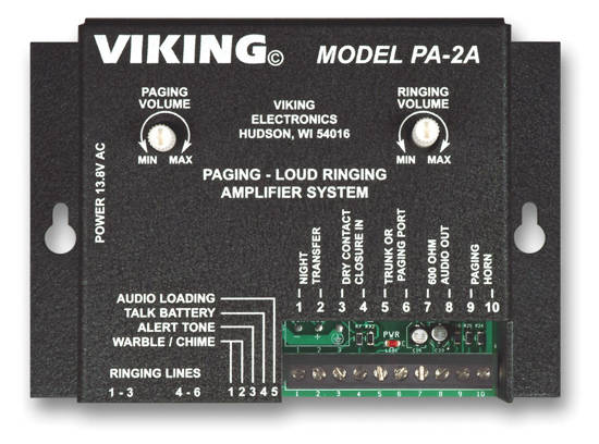 Picture of Viking Electronics PA-2A - Paging Loud Ringer with 8 Ohm Horn