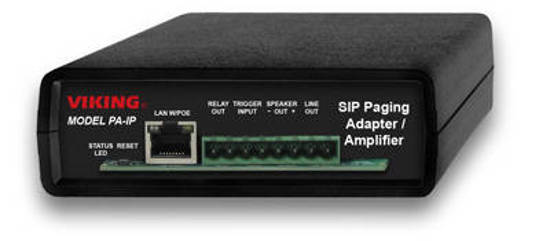 Picture of Viking Electronics PA-IP - SIP Multicast Paging Adapter Amplifier