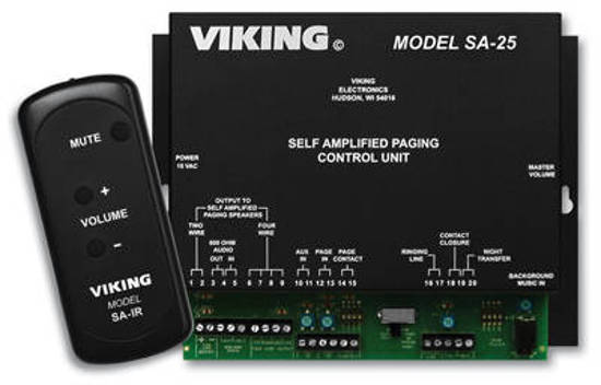 Picture of Viking Electronics SA-25 - Self Amplified Paging System Control