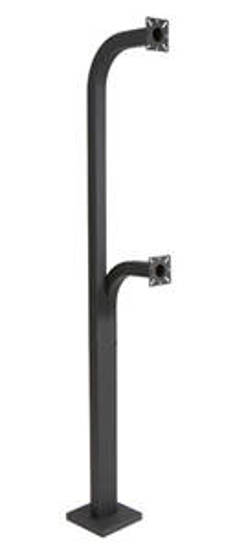 Picture of Viking Electronics VE-GNP-2 - Dual Height Gooseneck Pedestal 40in 70in