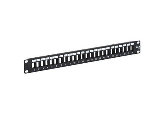 Picture of ICC IC107BP241 - PATCH PANEL, BLANK, HD, 24-PORT, 1 RMS