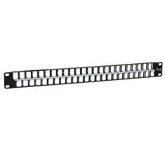 Picture of ICC IC107BP481 - PATCH PANEL, BLANK, 48-PORT, HD, 1 RMS