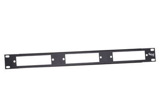 Picture of ICC ICFORPP1RM - PATCH PANEL, BLANK FIBER, 3-PANEL, 1RMS