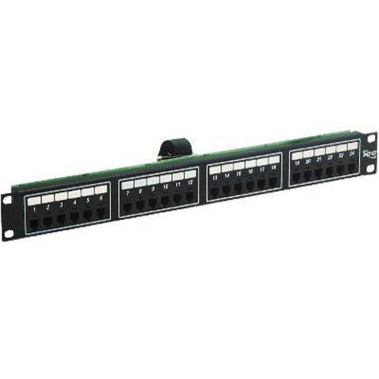 Picture of ICC ICMPP024T2 - PatchPanel 24PT Telco 6P2C 1RMS H