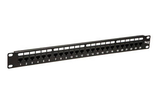Picture of ICC ICMPP24CP6 - PATCH PANEL,CAT 6, FEED-THRU 24-P,1RMS
