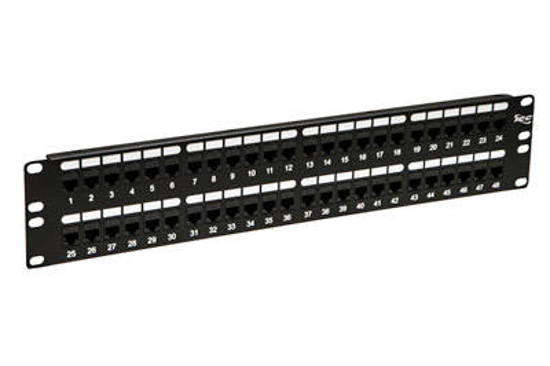 Picture of ICC ICMPP48CP6 - PATCH PANEL,CAT 6, FEED-THRU 48-P,2RMS