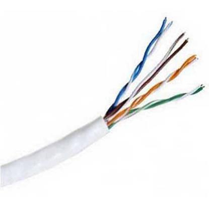 Picture of Hitachi Cable America CAT5e-PLEN-WH - 39419-8-WH2 CAT5e PLENUM WHITE 1000FT
