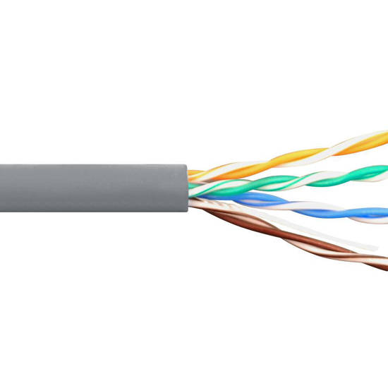 Picture of ICC ICCABR5EGY - CAT5e CMR PVC CABLE GRAY