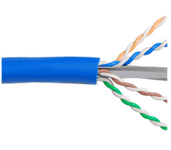 Picture of ICC ICCABR6ABL - CMR CAT6A UTP 650 MHz WITH SPLINE
